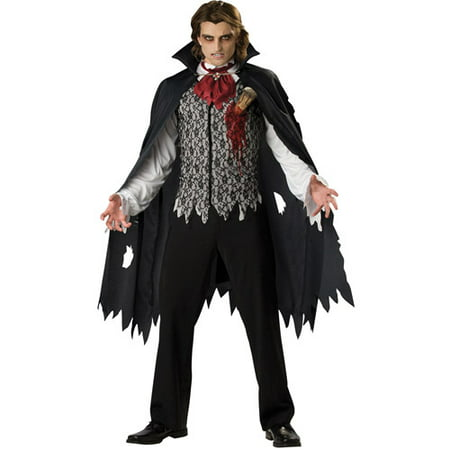 Vampire B Slayed Adult Halloween Costume (Halloween Costumes Vampire Teeth)