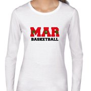 Morocco  Basketball - Olympic Games - Rio - Flag Women's Long Sleeve T-Shirt