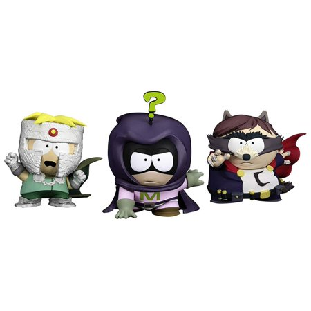 South Park The Fractured But Whole Vinyl Figure 3-Pack (Randy Halloween South Park)