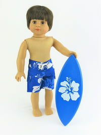 """Surfs Up! Trunks with Surf Board 