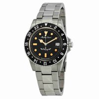 Mathey Tissot Black Dial Automatic Mens Watch