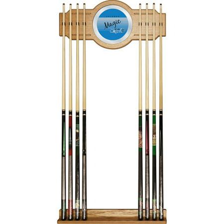 Orlando Magic Hardwood Classics NBA Cue Rack with Mirror by