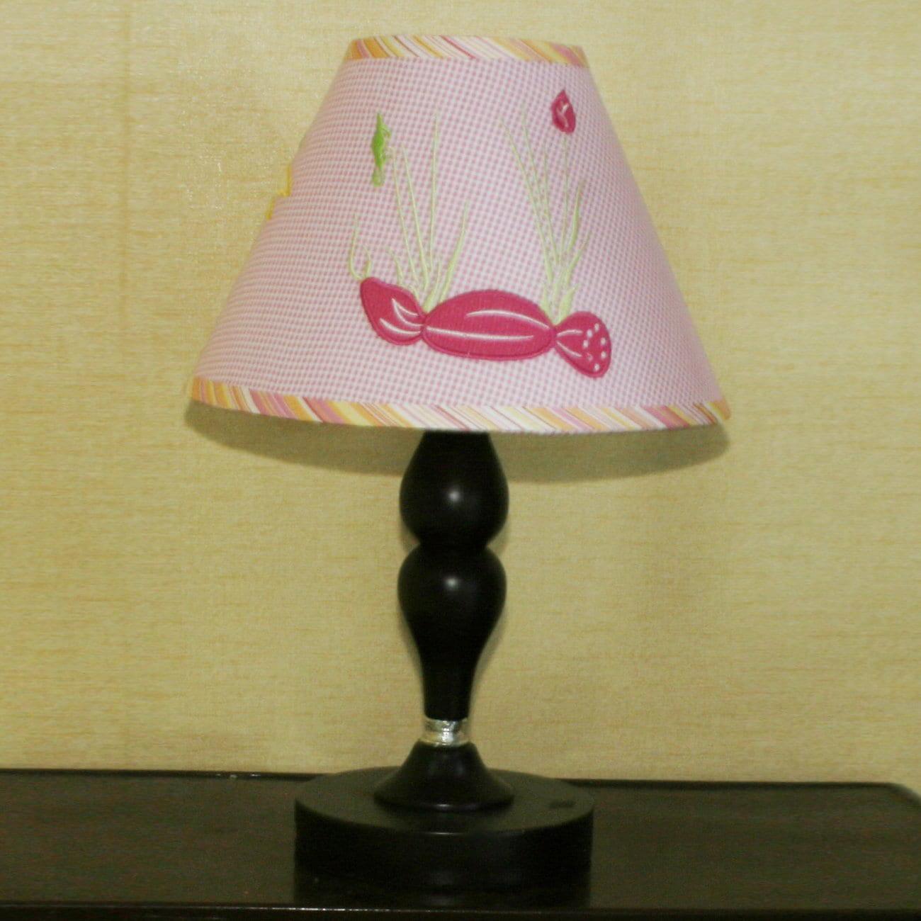 Geenny Pink Dragonfly Lamp Shade