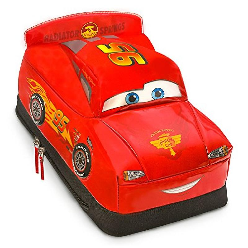 Disney Store Deluxe Lightning McQueen Cars Lunch Tote Box