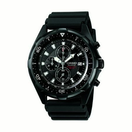 - Men's Classic Watch Quartz Mineral Crystal AMW-330B-1AV