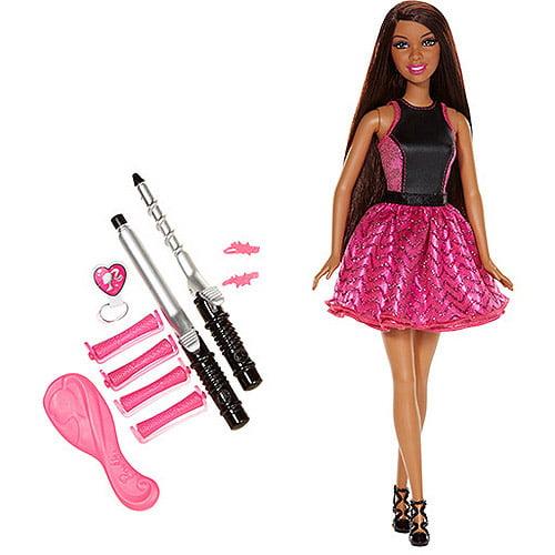 Barbie Endless Curls Doll, African American