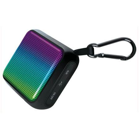 Dura Waves Glow Bluetooth Portable Speaker in Black