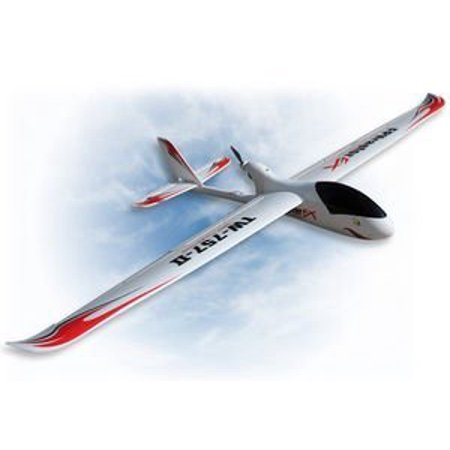 2.4Ghz Radio Remote Control Electric FPV Raptor EX Skyrider 2 meter Wingspan RC Airplane Glider RTF w/Brushless Set up + EPO Durability + With (Best Rc Electric Glider)