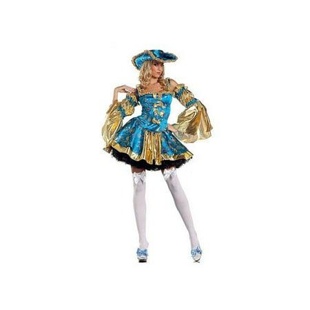 Leg Avenue Royal Antoinette Costume Set BW1186 Turquoise](Antoinette Costume)