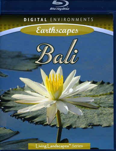 Click here to buy Living Landscapes: Bali (Blu-ray) by DIGITAL ENVIRONMENTS.