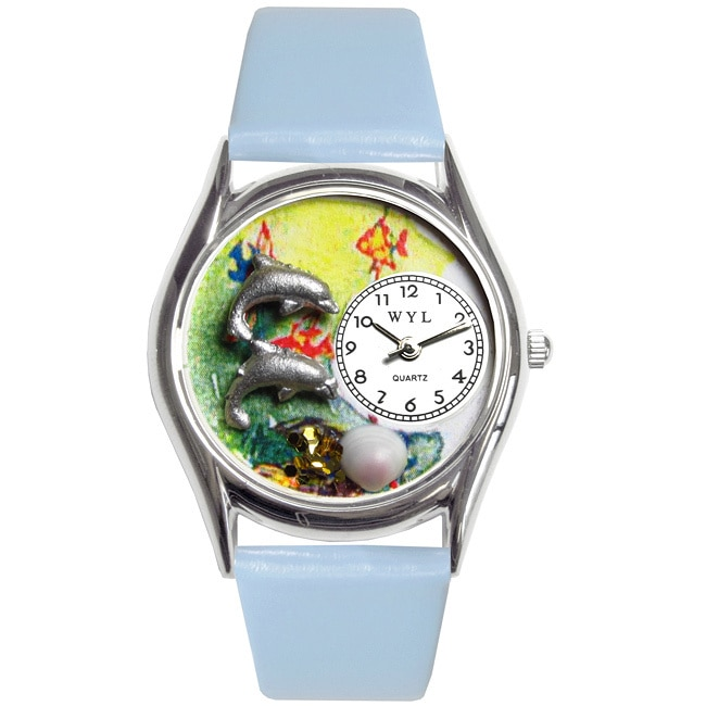 Whimsical  Kids' Dolphin Theme Watch