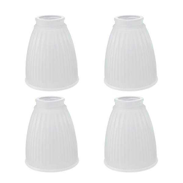 Aspen Creative 23037 4 Transitional, Replacement Glass Shades For Bathroom Light Fixtures