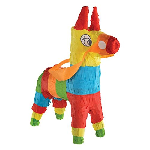 Mini Donkey Pinata Party Decoration