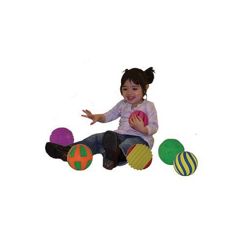 Get Ready Kids Tactile Squeak Balls  (Set of 6)