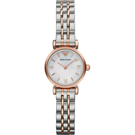 Emporio Armani Women's Two-Tone Mother of Pearl Bracelet Watch AR1764 - Witches From Wizard Of Oz