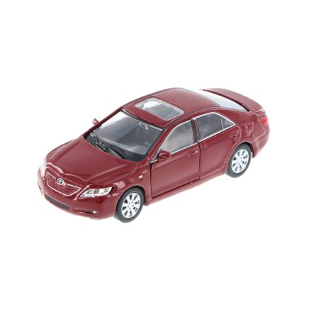 Toyota Camry, Red - Welly 42391 - 4.5' Long Diecast Model Toy Car (Brand New, but NOT IN BOX) Toyota Camry Se Car