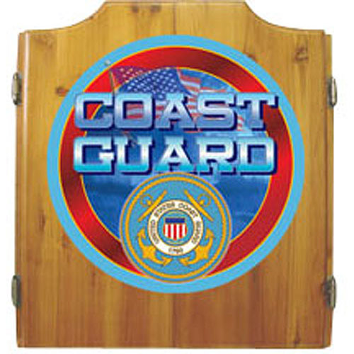 US Coast Guard Cabinet with Darts and Board