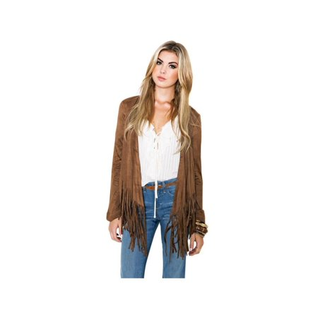 Lavaport Women's Fashion Hippie Tassel Loose Cardigan Blouse Jacket Outfit](Easy Hippie Outfit)