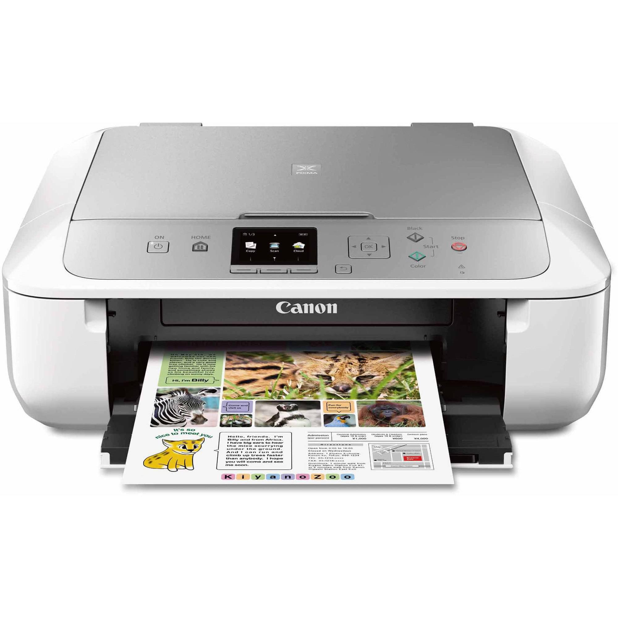 Canon PIXMA MG multifunction printer color Walmart