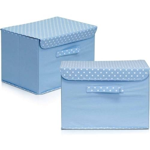 Furinno 2NW13203 Non-Woven Fabric Soft Storage Organizer with Lid