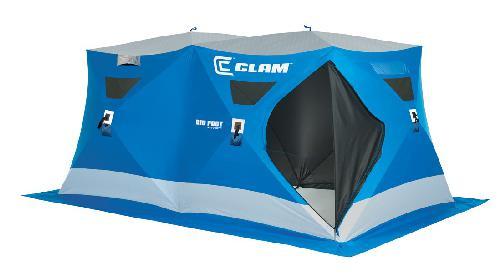 Clam Outdoor Winter Ice Fishing 9570 Pop Up Shelters Bigfoot Xl6000 Tc by Ice Fishing Supplies