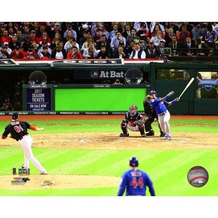 Grand Slam World Series (Addison Russell Grand Slam Game 6 of the 2016 World Series Photo Print )