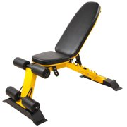 Everyday Essentials Heavy Duty Adjustable and Foldable Utility Weight Bench for Upright, Incline, Decline, and Flat Exercise