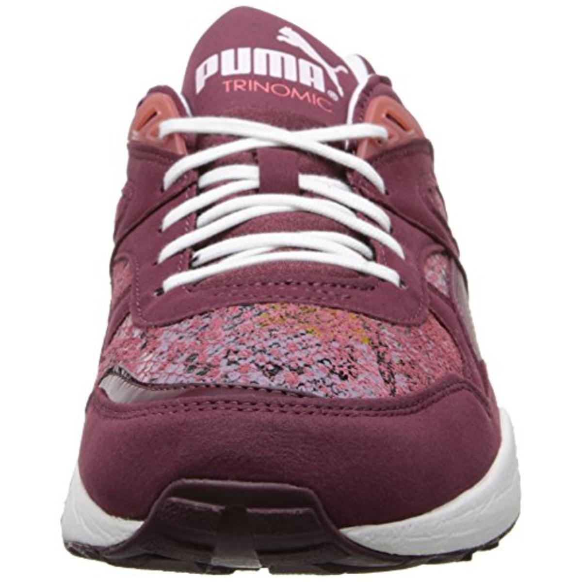 PUMA - puma womens trinomic r698 hype leather snake print athletic shoes -  Walmart.com 7cd1202c5