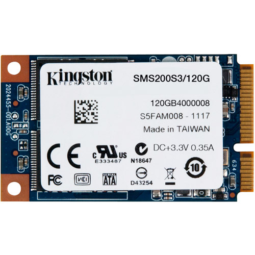 Kingston 120GB SSDNow mSATA
