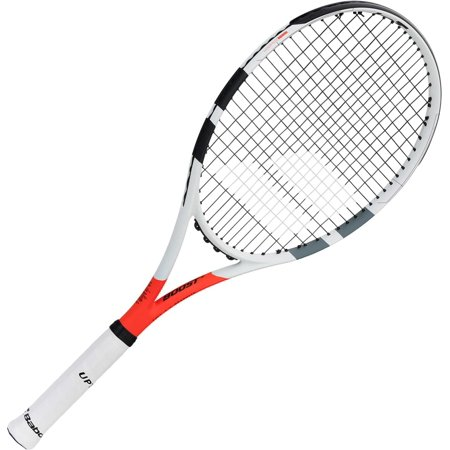 Babolat Boost Strike Pro Tennis Racquet (Babolat Hurricane Pro String)