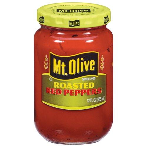 Mt. Olive: Roasted Red Peppers, 12 fl oz