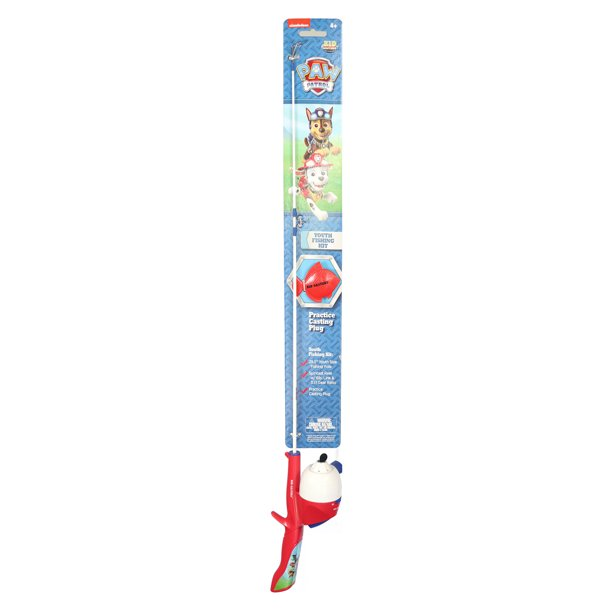 Kid Casters Paw Patrol Spincasting Rod and Reel Combo