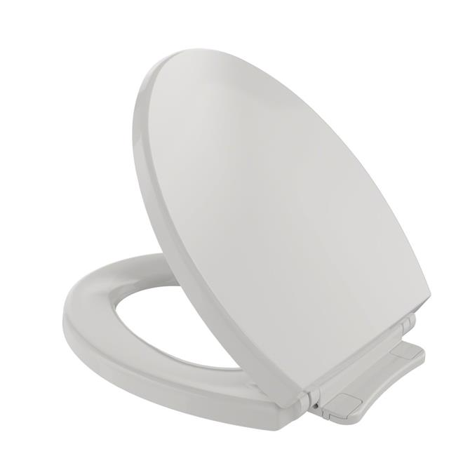 Toto SS113No.11 SoftClose Non Slamming, Slow Close Round Toilet Seat & Lid, Colonial White - image 1 of 1