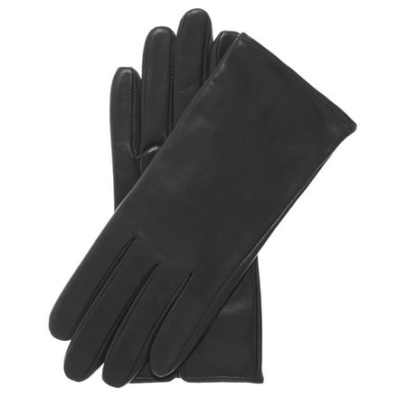 Cashmere Extra Long Gloves (Pratt and Hart Women's Classic Wool/Cashmere Blend Lined Leather Gloves )