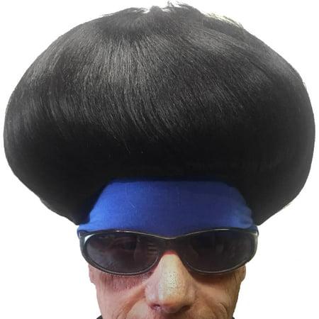 Fortnite Funk Ops Adult Costume Wig w/ Headband - Headband Wigs Short