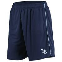 Tampa Bay Rays Majestic Mesh Shorts - Navy