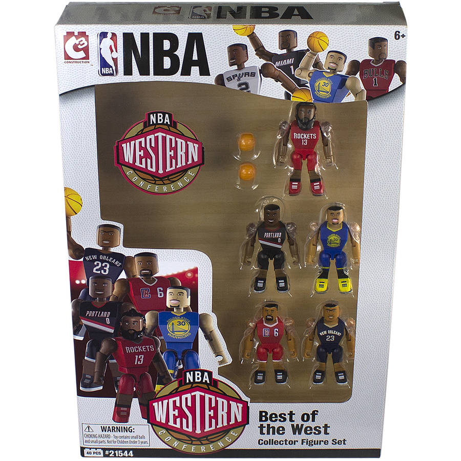 C3 NBA Figures, Best of the West, Pack of the 5