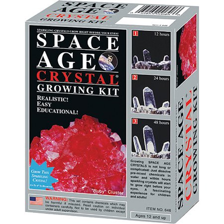 Space Age Crystals  Mini Series   Ruby