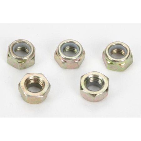 Woodys NYL-5000 Steel Lock Nuts for Traction Master Studs - 7mm Thread - 48 Pack