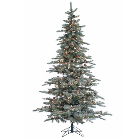 Sterling 7.5Ft. Lightly Flocked McKinley Pine with 650 clear lights