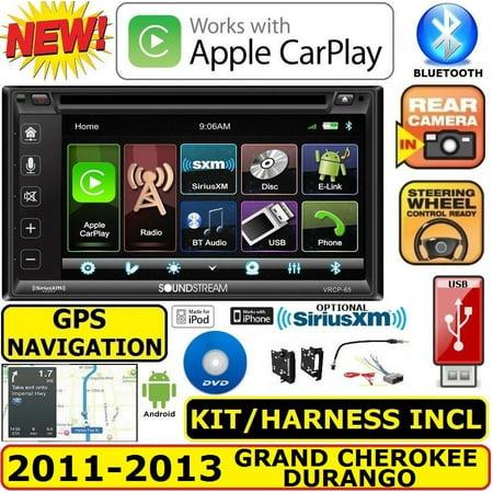 2011-2013 GRAND CHEROKEE & DURANGO GPS NAVIGATION SYSTEM BT CAR RADIO STEREO PKG (Cherokee Radio)