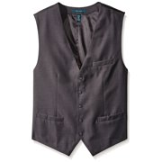 Perry Ellis NEW Gray Men's Size 3XL Twill Strip Photographer Vest