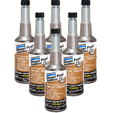 Stanadyne Performance Formula Diesel Injector Cleaner | 6 Pack of 16 oz bottles | #