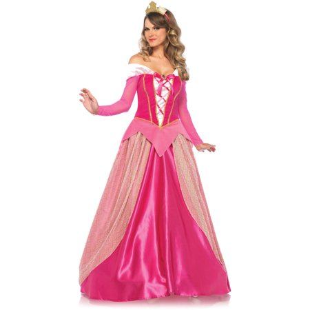 Leg Avenue Adult Princess Aurora 2-Piece Costume - Homemade Princess Jasmine Costume Adults