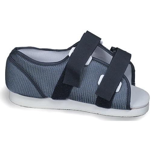 Men's Blue Mesh Post-Op Shoe, Small