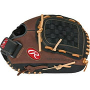 Rawlings Player Preferred 12.5 Inch Baseball Or Softball Glove - 12.5 Size Number - Basket Web - Rawhide Lace, Full Grain Leather Shell, Full Grain Leather Lace - Pre-oiled, Flexible - For (p125-6-0)