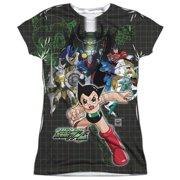 Astro Boy Group (Front Back Print) Juniors Sublimation Shirt