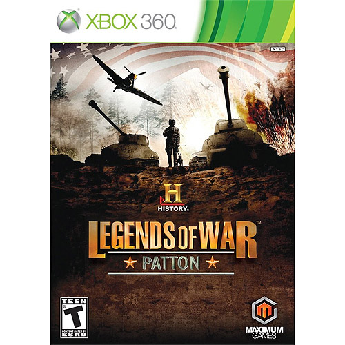 History Legends War Patton (Xbox 360) - Pre-Owned