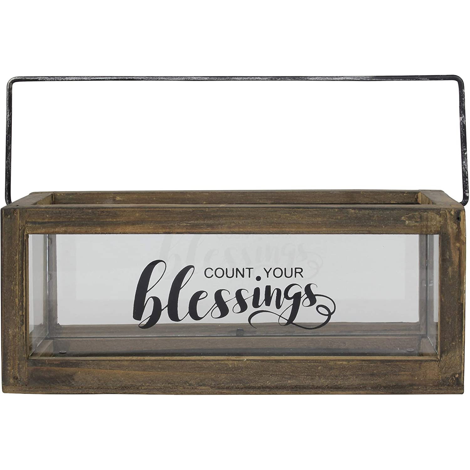 Blessed Rustic Wooden photo holder