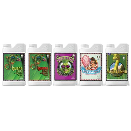 Advanced Nutrients Organic (Advanced Nutrients Organic OIM Bundle Package (Iguana Juice Grow & Bloom, Bud Candy Organic, Big Bud Organic & Ancient)